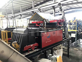 PET flakes recycling line eddy current separator 4.jpg